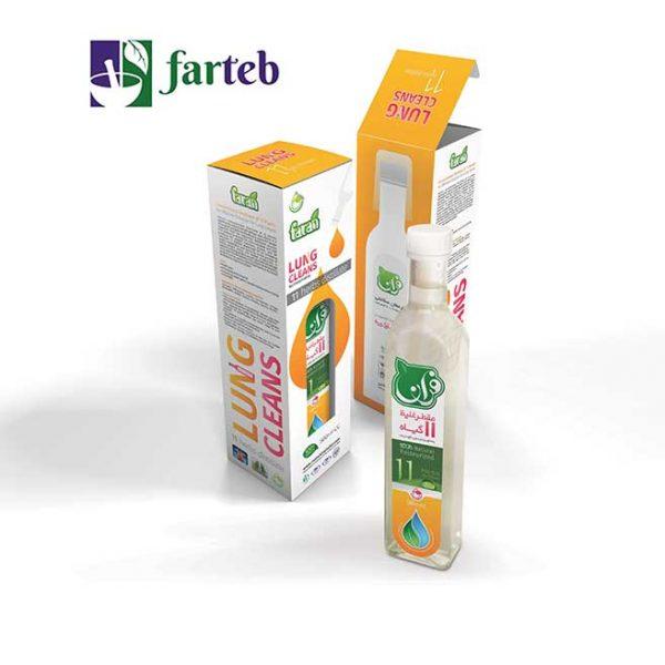 پک یازده گیاه فران موثر در پاکسازی ریه (شامل چهار بطری نیم لیتری)